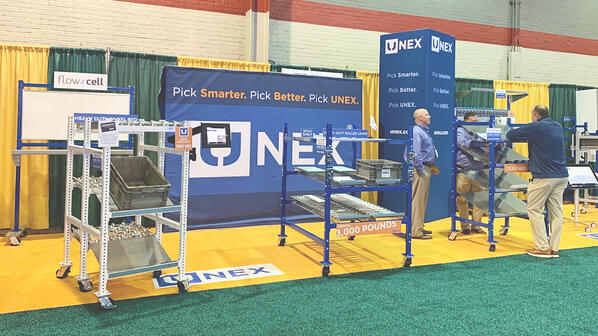 UNEX displays space-saving solutions at the Assembly Show