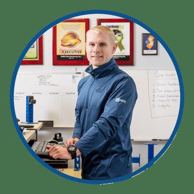 UNEX Employee Spotlight Craig Moberg FlowCell Product Manager