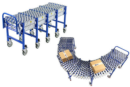 Implementing flexible conveyors