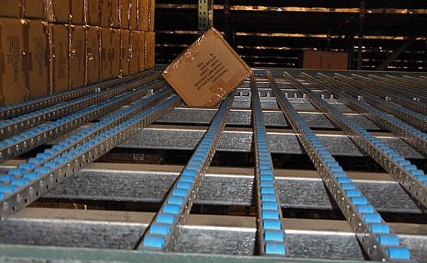 bad carton flow shelving