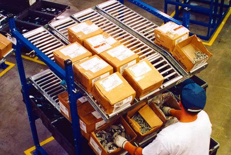 assembly line rack