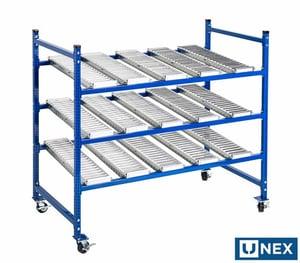 UNEX Flow Cell Lineside Modular Storage Structure
