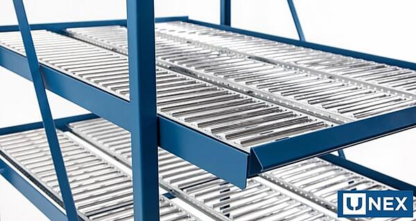 shelf track carton flow shelving