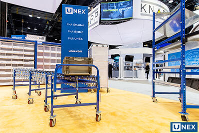 UNEX Flexwheel Conveyor