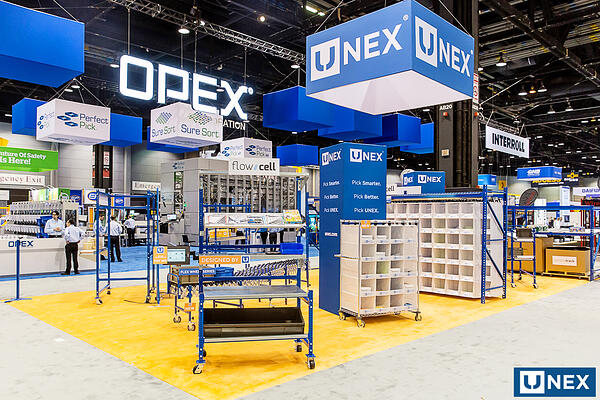UNEX showcases space saving solutions at Promat 2019