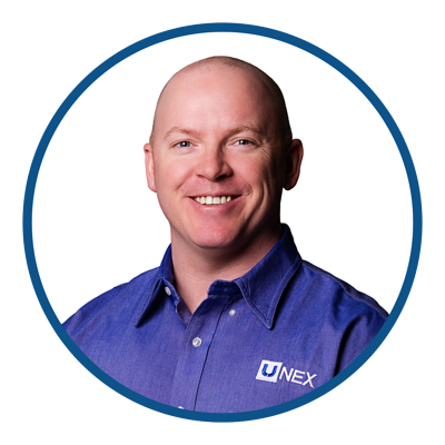Ryan McKinney is UNEX Central East Regional Sales Manager
