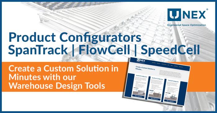 UNEX Dynamic Storage Solution Configurators