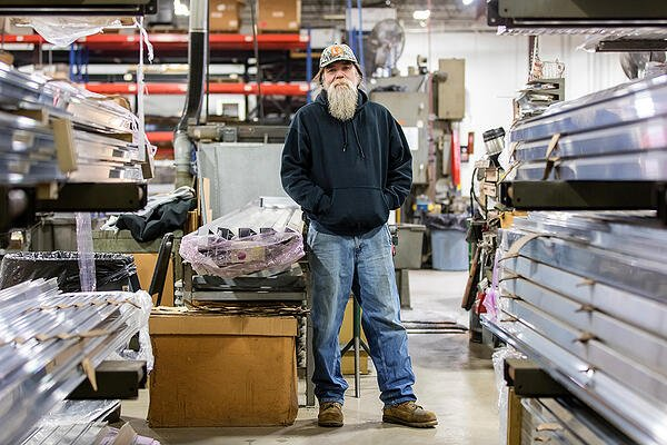UNEX Fabrication Department Operator Flip Krueger