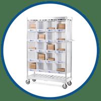 UNEX Order Picking Carts