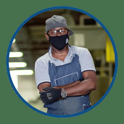 UNEX Employee Spotlight Fabrication Dept Joseph Whittington