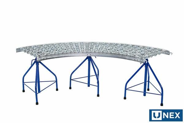 Portable Skatewheel Conveyor